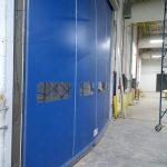 RolliZIP 5000 x 4500 Pressure on curtain